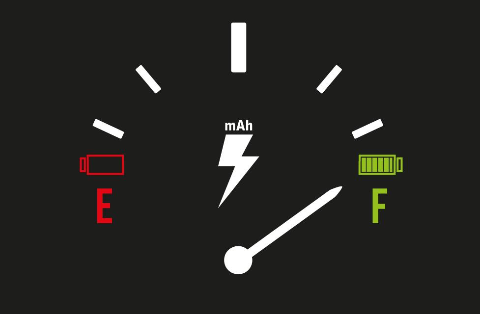 Bateria, mah, miliamperes